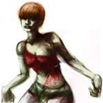 Resident Evil 2 Zombie Girl