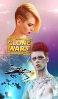 STAR WARS THE CLONE WARS FF COVER / READ DESCRIP.!