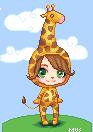 Pixel doll - Giraffe by terrasmus