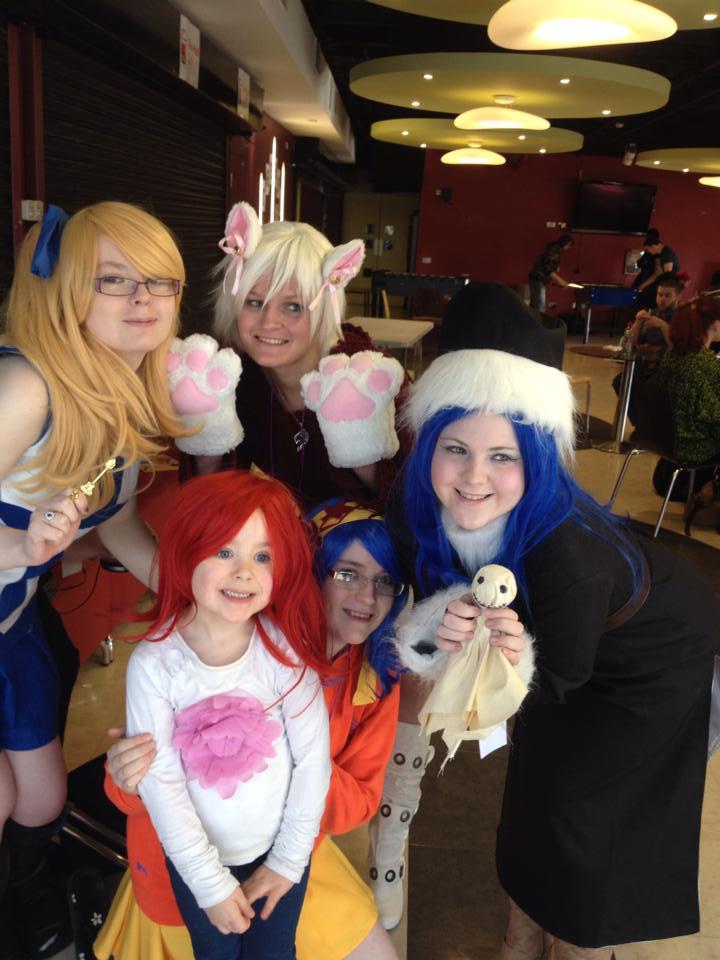 Fairytail Girlies! by DBZprincess