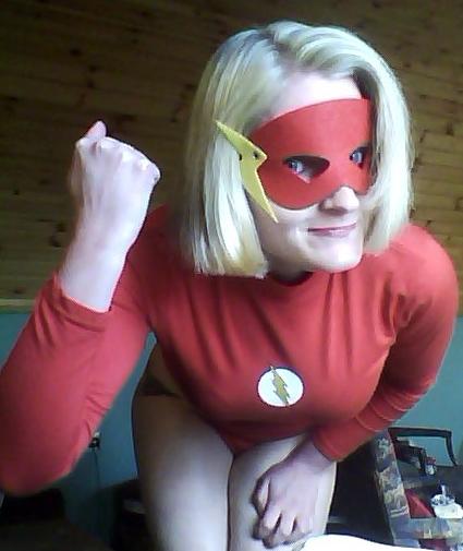 Female Flash Costume by DBZprincess