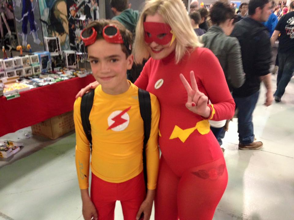 With Kid Flash! by DBZprincess