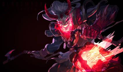 Bloodmoon Thresh // Lowpoly Art