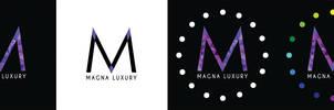 Magna Luxury Concept Logos