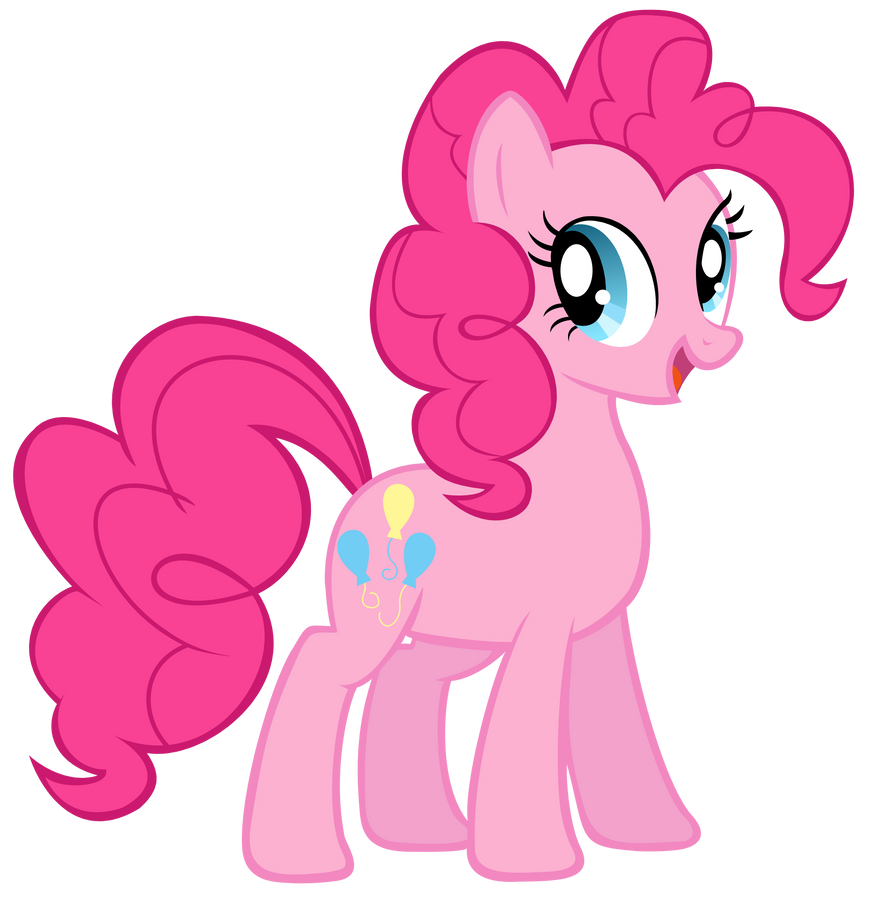Pinkie Pie Vector by jourple
