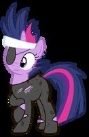 Future Twilight Sparkle Vector by jourple