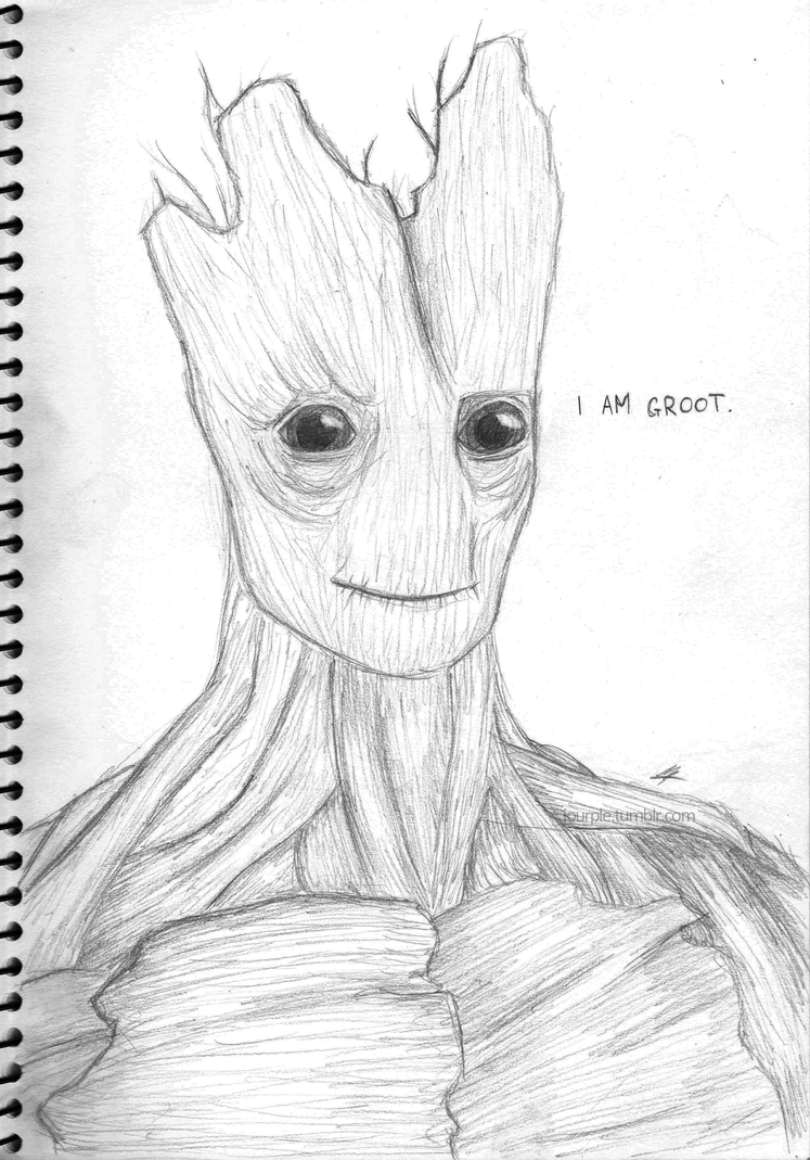 I am Groot by lalala508