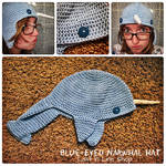 Blue Eyed Narwhal Hat