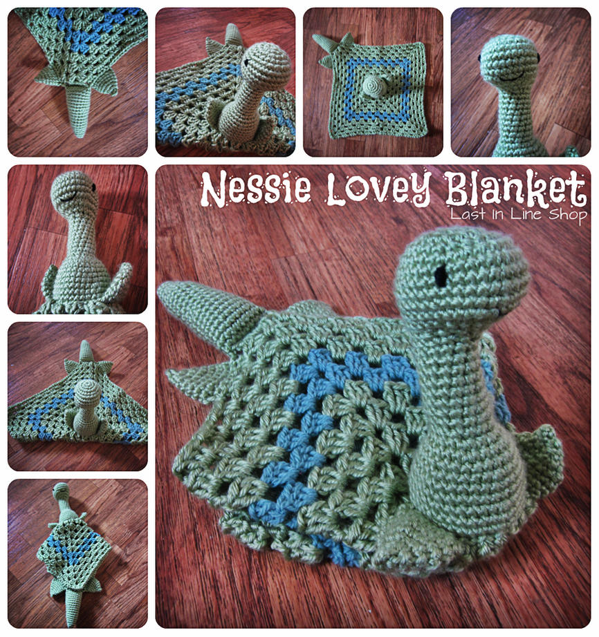 Nessie Lovey Blanket by the-carolyn-michelle