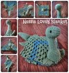 Nessie Lovey Blanket