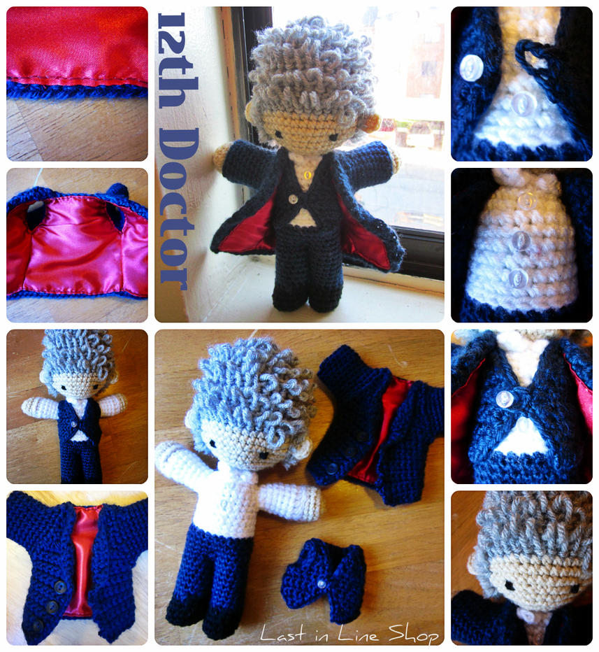 12th Doctor Plush by the-carolyn-michelle