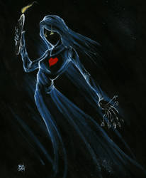The Bride by Batcroz