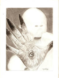 Pale Man by alex-jville