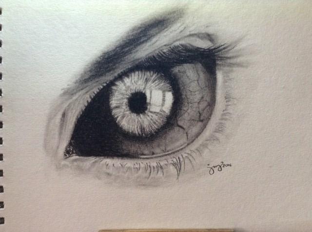 Eye (charcoal study) by alex-jville
