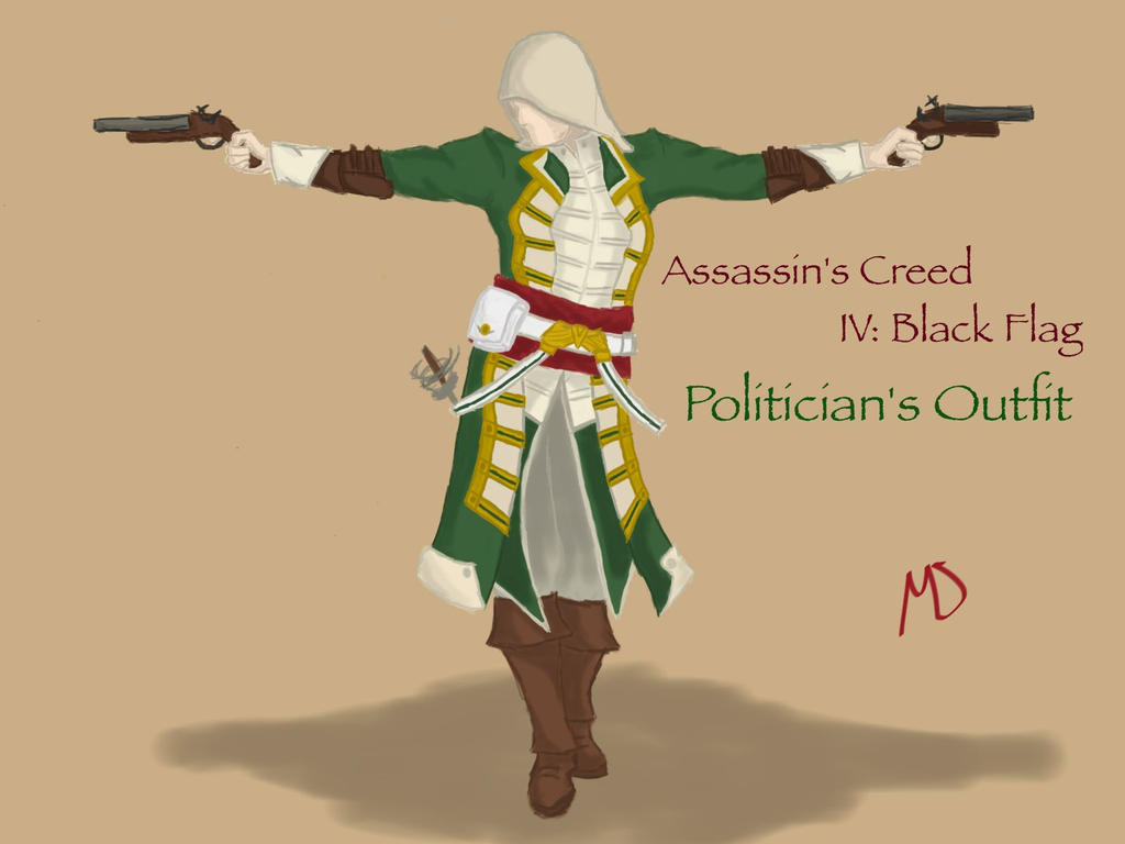 Assassins Creed Iv Black Flag Politician S Outfit By