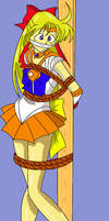 Sailor Venus Tied Up