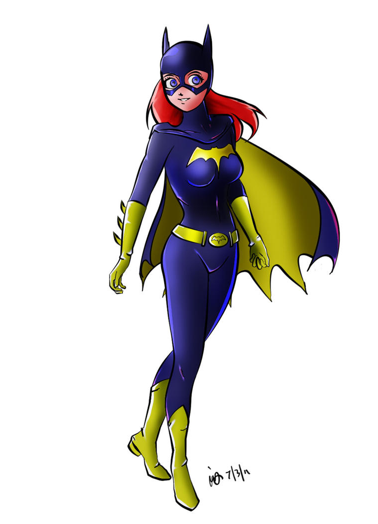 Batgirl by sleepy-comics