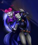 'Sweet dreams Raven!' -- Jinx