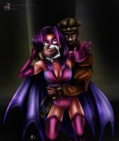Huntress gets chloroformed! by sleepy-comics