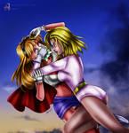 Supergirl chloroformed by Galatea