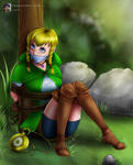 'Linkle' Bound and Gagged - From Zelda