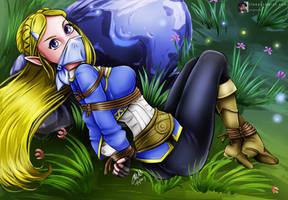 Princess Zelda Captured! by sleepy-comics