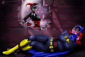 Batgirl - 'Walled In' Peril by sleepy-comics