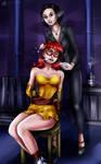 Enhancegirl - In the clutches of Madam Black by sleepy-comics