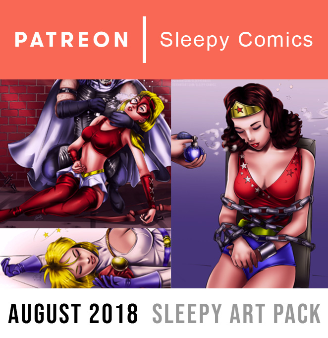 Patreon August 2018 Advertisement 2 by sleepy-comics