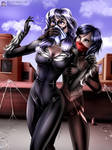 Black Cat Chloroformed by Silk