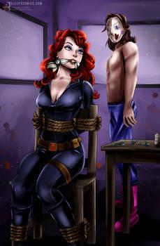 Black Widow Captured