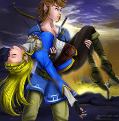 Princess Zelda Rescued