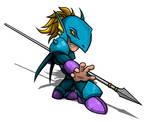 Dragon Knight Cain Highwind
