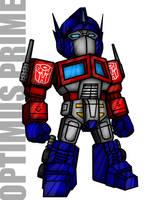 Optimus Prime by Gundamjack
