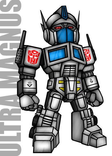 Ultra Magnus Toy Version by GundamjackUltra Magnus Toy