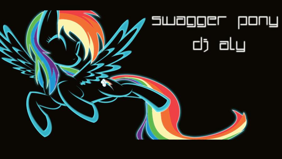 Swagger Pony. - DJ Aly. by Winter-218