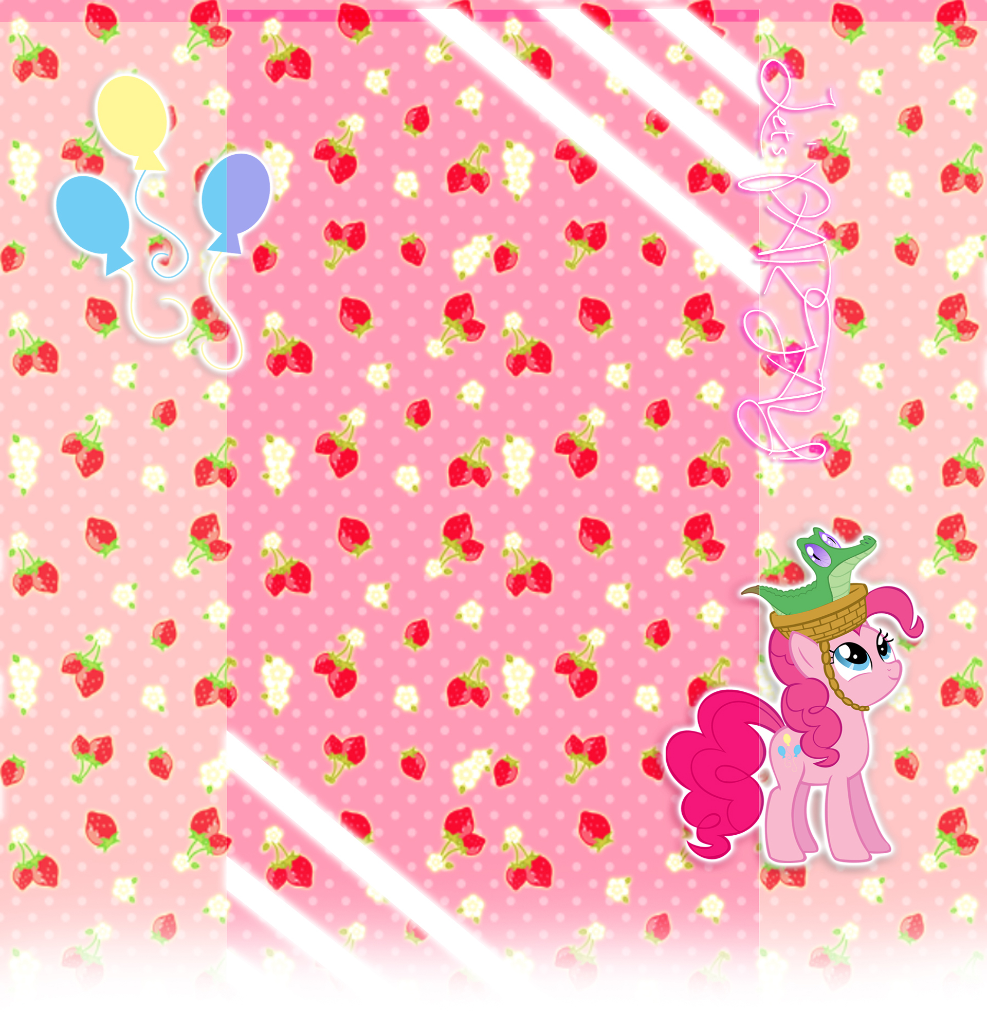 Request - Pinkie Pie Youtube Background by Winter-218