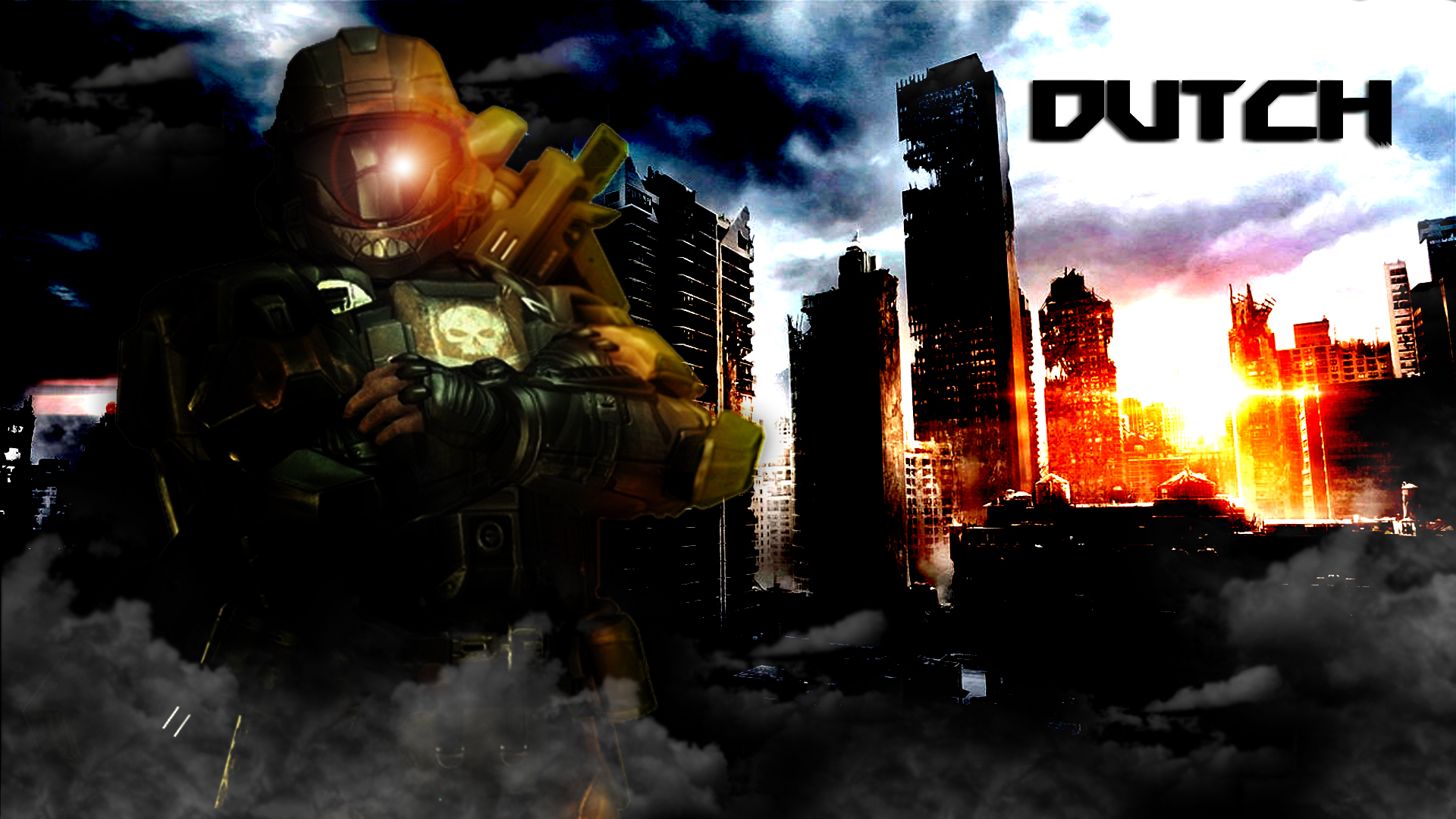 ODST Dutch - Desktop Background by Winter-218
