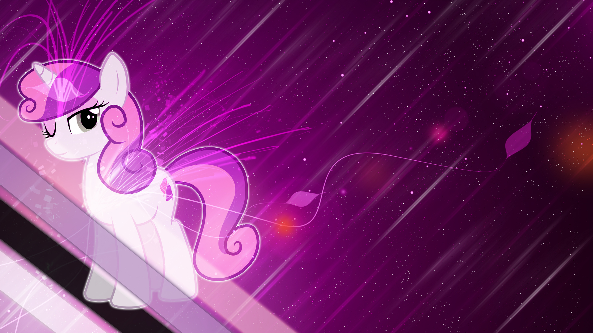 Adult Sweetie Belle Desktop BG by Winter-218