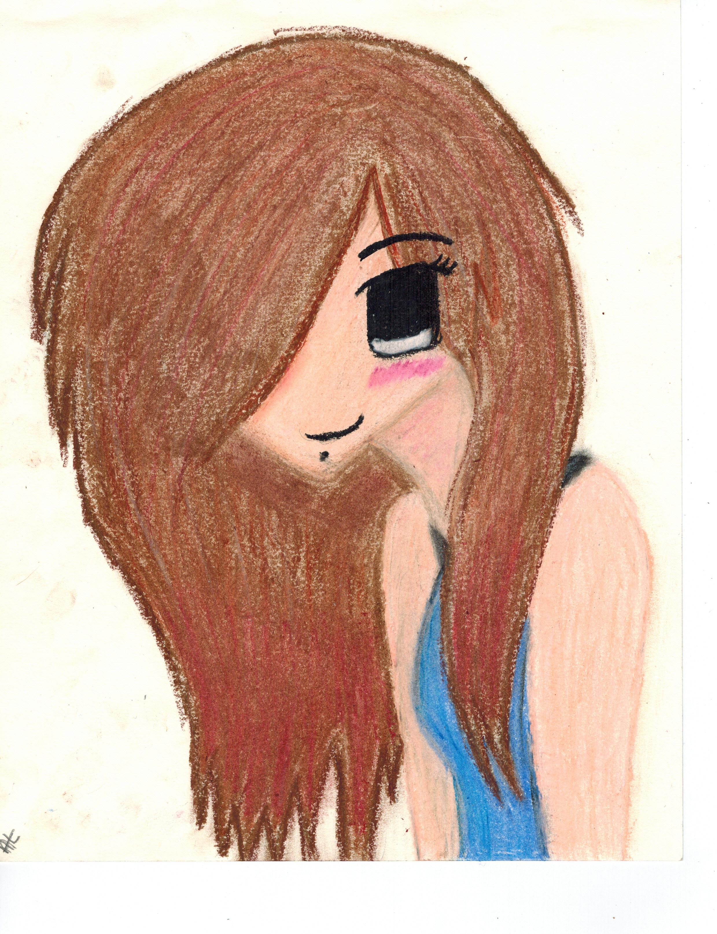 Anime Self Portrait~ by Winter-218