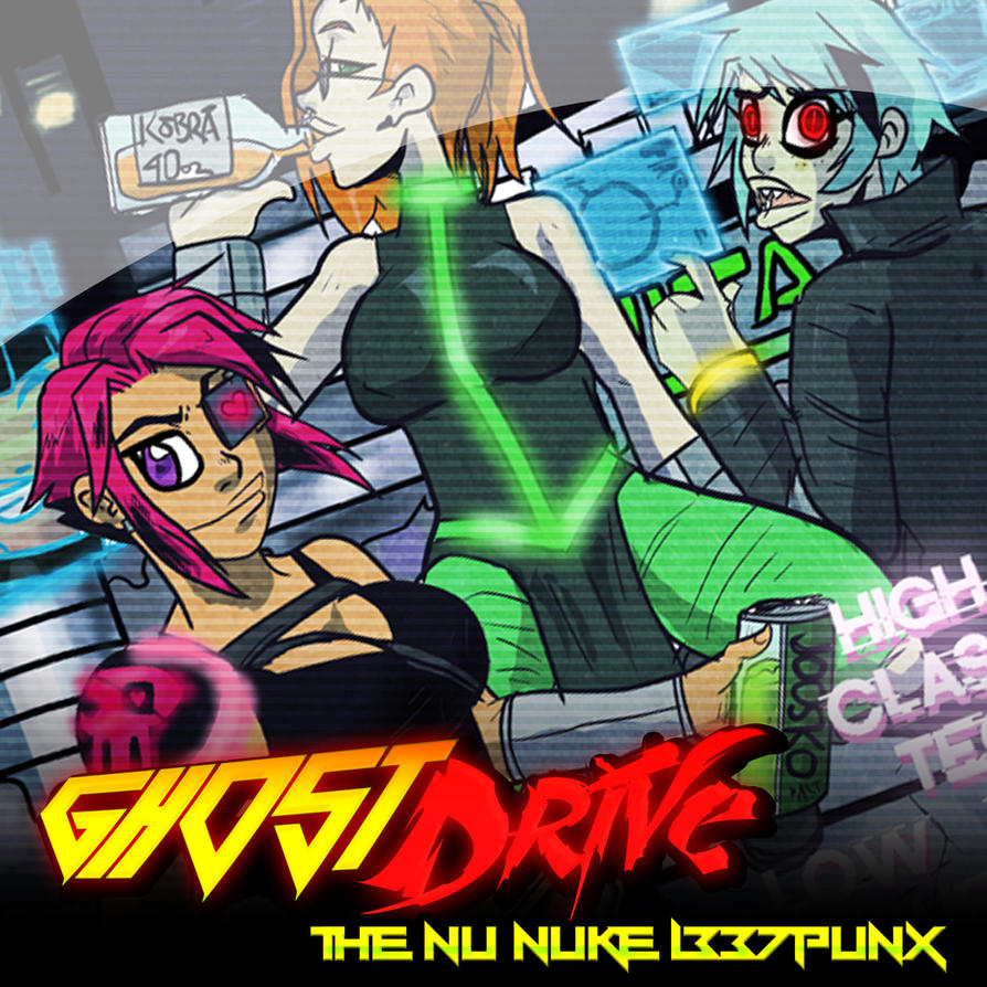 GhostDrive -  The Nu Nuke L337 Punx by andehpinkard