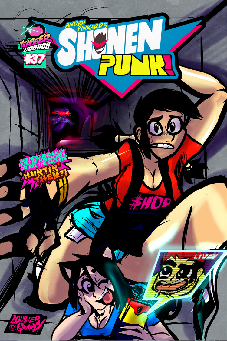 Shonen Punk ch.37 the hunt is on! [cover] by andehpinkard