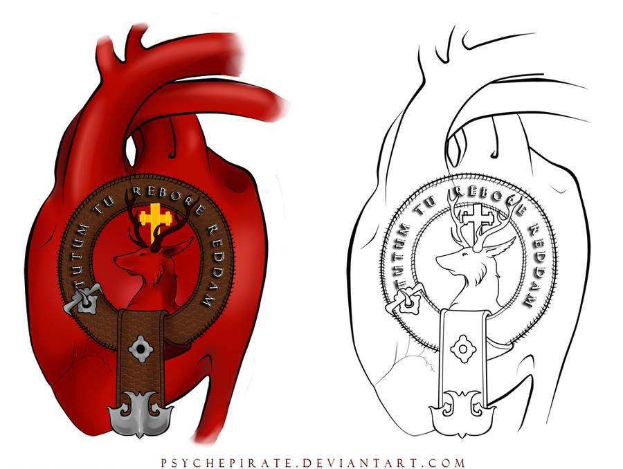 Crawford Family Crest Tattoo by *psychepirate on deviantART