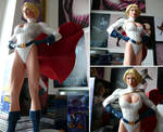 Power Girl Statue by Abt-Nihil