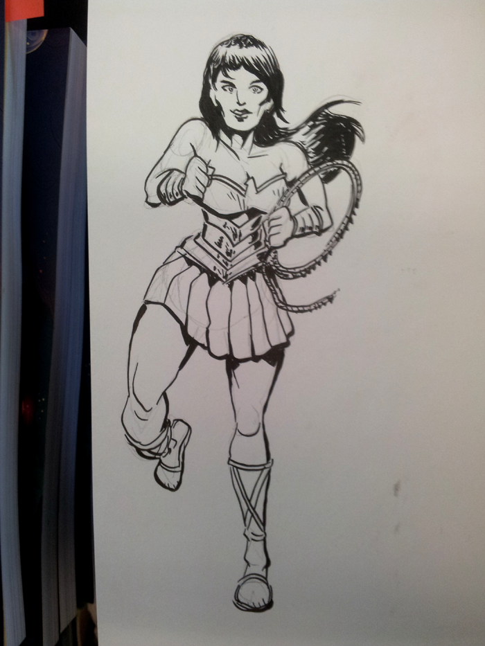 Wonder Woman Comicfestival sketch by Abt-Nihil