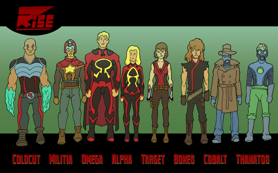 RISE Line-Up by Abt-Nihil