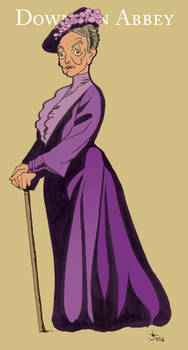 Violet from Downton Abbey