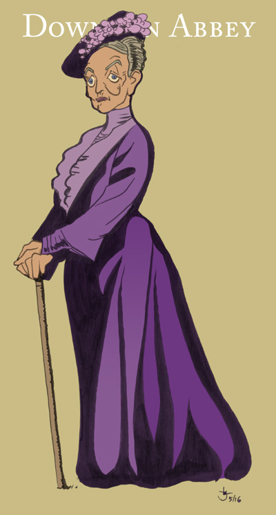 Violet from Downton Abbey by Abt-Nihil