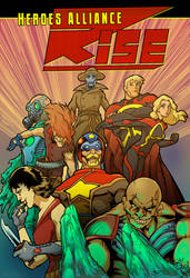 Heroes Alliance RISE Short Story Cover