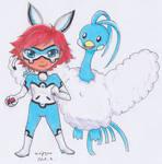 MLB x Pokemon - Bunnix and Altaria by Airipyon